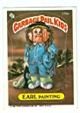 Garbage Pail Kids sticker trading card 1986 Topps #178a Earl Painting Picture