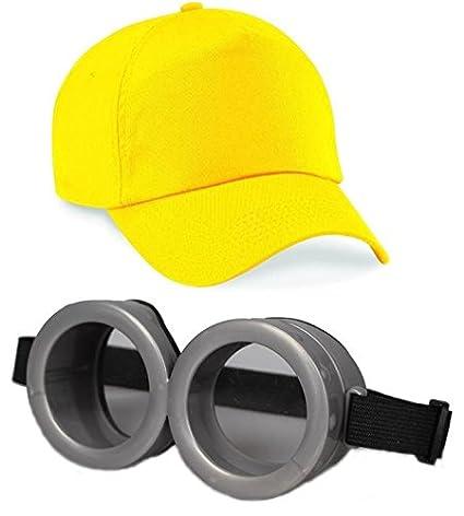 962d3aca91 ASVP Shop® Minion Goggles Despicable Me Glasses Goggle Eyes Glasses Fancy Dress  Costume  Amazon.co.uk  Toys   Games