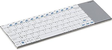 Rapoo E2700 - Teclado inalámbrico, Blanco: Amazon.es: Electrónica