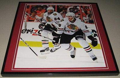 Patrick Kane 2010 Stanley Cup Blackhawks Framed 12x12 Poster Photo