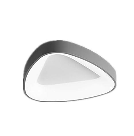 Luz de techo led lámpara de dormitorio no-polo atenuación simple ...