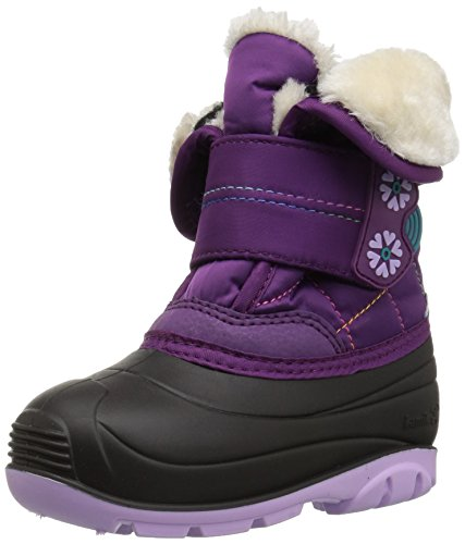 Kamik Girls' FROSTLINE Snow Boot, Grape, 7 Medium US Toddler]()