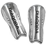 Diadora Cosmo Chrome Shin Guard (X-Small, Metallic Silver)