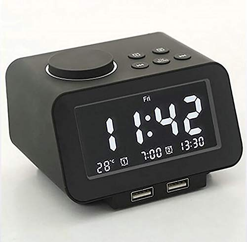 ZUZU Smart Digital Alarm Clock Radio Alarm
