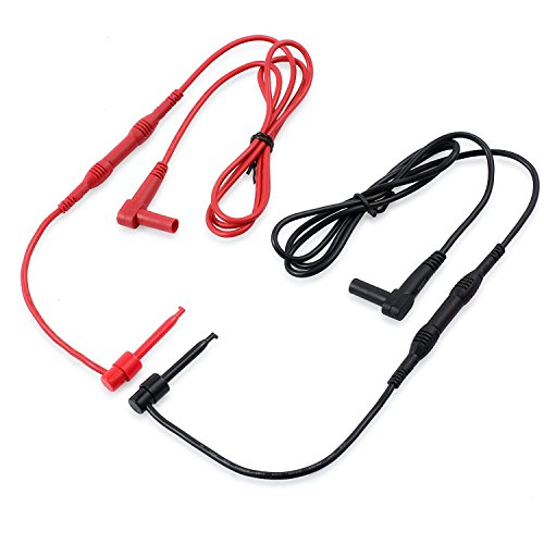 Proster Multimeter Test Leads 8-Pieces Electronic Professional Test Lead Kit Test Lead Probe Multimeter Accessory Kit Includes Lead Extensions Test Probes Mini Hooks Alligator Clips by Proster (Image #3)
