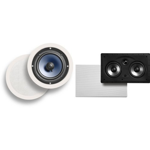 Polk Audio RC60i In-Ceiling Speakers with 255C-RT In-Ceiling