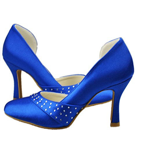bleu Minitoo Semelle Bleu compensée femme wvUFgv4q