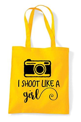 Shopper Photography Shoot Tote Like Camera Yellow A Girl I Bag q6W8wUq7