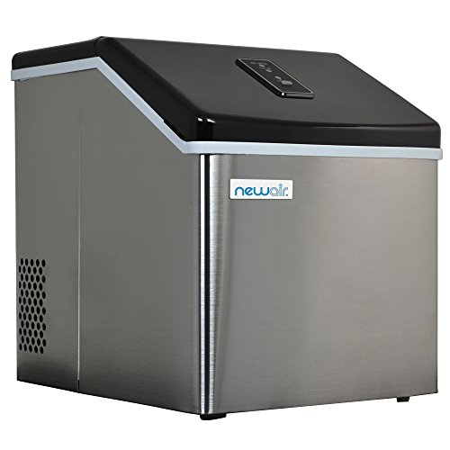 Countertop Clear Ice Maker | 40 Lbs | NewAir ClearIce40 by NewAir