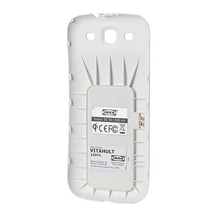 Ikea Vita hult Base de carga inalámbrico S3; en color blanco