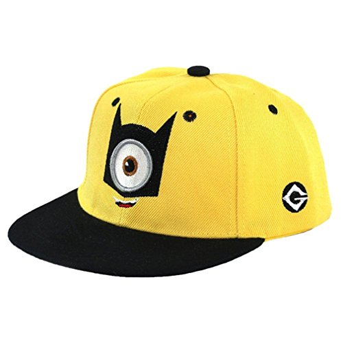 Minion Teen Age Hip-Hop Baseball Cap With Adjustable Snapback (One (Minion Costumes Teen)