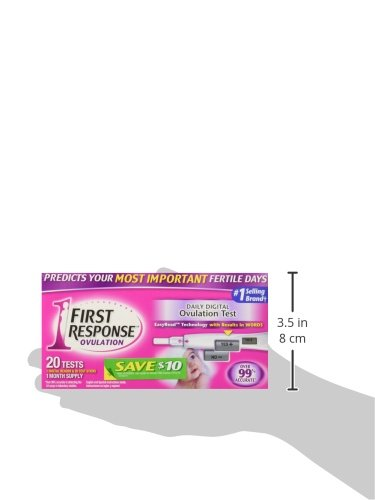 First Response Digital Ovulation - 20 tests -1month supply- by First Reponse Ovulation (Image #3)