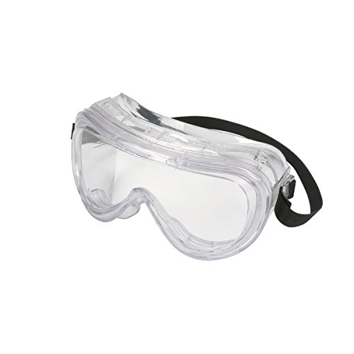 High Impact Chemical Splash Safety Goggles 160 Series Protective Goggles, Clear / Clear Enfog