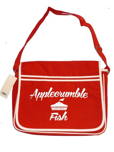 Fish Parody Applecrumble Famous 3 Brand Messenger retro Men's Us Red Bag Shoulder amp; SwSq5YcrxB