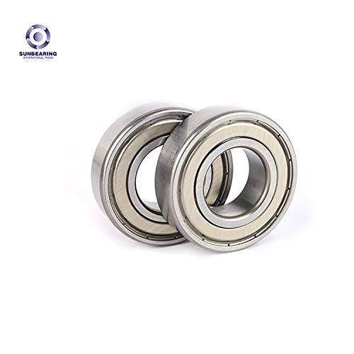 SUNBEARING,Double Rubber Sealed Shielded Miniature Deep Groove6308ZZ, Bearings for Skateboards, Inline Skates, Scooters, Roller Blade Skates & Long Boards,1pc 6308ZZ Ball Bearing,409023mm