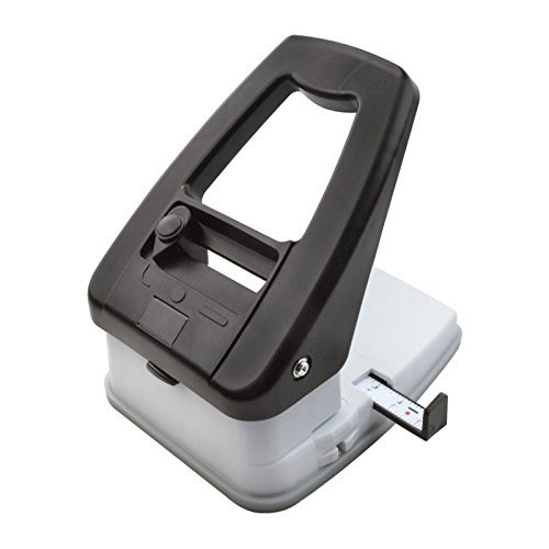 3-in-1 ID Badge Slot Punch for ID Cards (Works with All PVC Cards and ID Card Printers) (Black, 3 in One) by Bodno