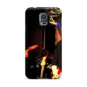 SherriFakhry Samsung Galaxy S5 Bumper Hard Phone Cases Support Personal Customs HD Red Hot Chili Peppers Series [mWo1389dqud]