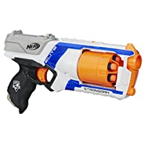 Nerf - Lanzadardos Strongarm Elite (Hasbro 36033E35). Exclusivo de Amazon.