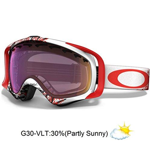 Oakley Crowbar Seth Morrison Signature Series Snow Goggle with G30 - Crowbar Signature