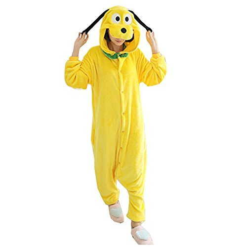 Molly Unisex Adult Kigurumi Homewear Pajamas Cosplay Costume Sleepwear XL Yellow Dog - Assassin's Creed 2 Costume Cosplay