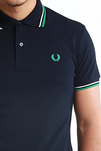 Fred Perry Herren Poloshirt Gr. Small, Marineblau