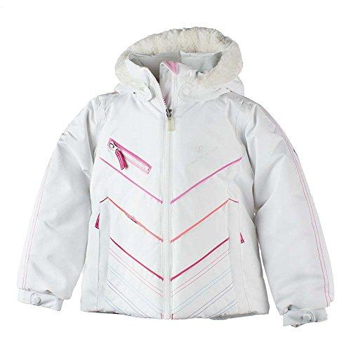 Obermeyer Kids Baby Girl's Sierra Jacket with Fur (Toddler/Little Kids/Big Kids) White 3T by Obermeyer Kids