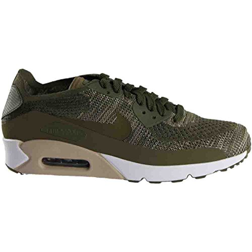 Shoe 0 Running Men's Olive 2 Olive Medium NIKE 90 Air Medium Flyknit Ultra Max nPfqWwzd1Y