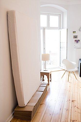 Room In A Box Bett 20 Mbraun Klappbett Aus Wellpappe 120 140 X