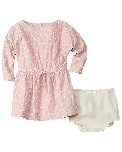 BURBERRY Girls Mauve Dress, 18M, Pink