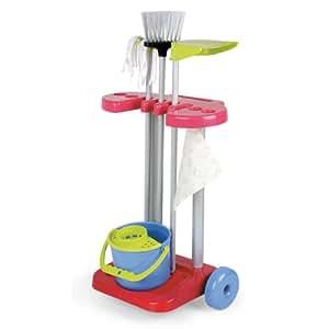 Coloma 5414 - Carrito de la limpieza con 5 accesorios [Importado de Alemania]