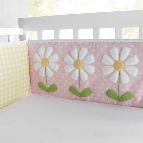 Daisy Crib Pillow - 5