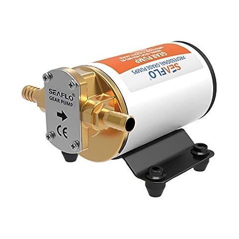 SEAFLO 12v Self Priming Impeller Gear Pump for Diesel Lubricants Machinery Fuel Scavenge Oil - Bronze Transfer Pump