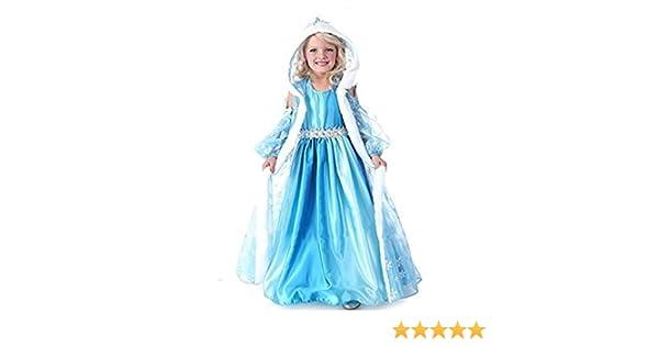 Traje Frozen Elsa tamaño 100 2-3 años de reina de la nieve ...
