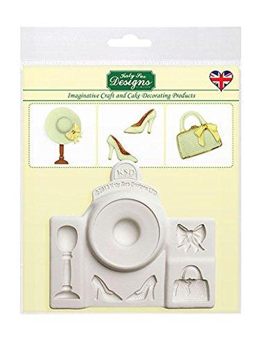 Katy Sue Designs Fashion Accessories Cake-Decorating Silicone Mold