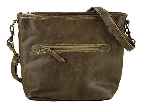 Domelo Tracht Borse da Donna Vintage Borse a tracolla Borsette in pelle 53028