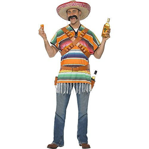 Smiffy's Men's Tequila Shooter Guy Costume