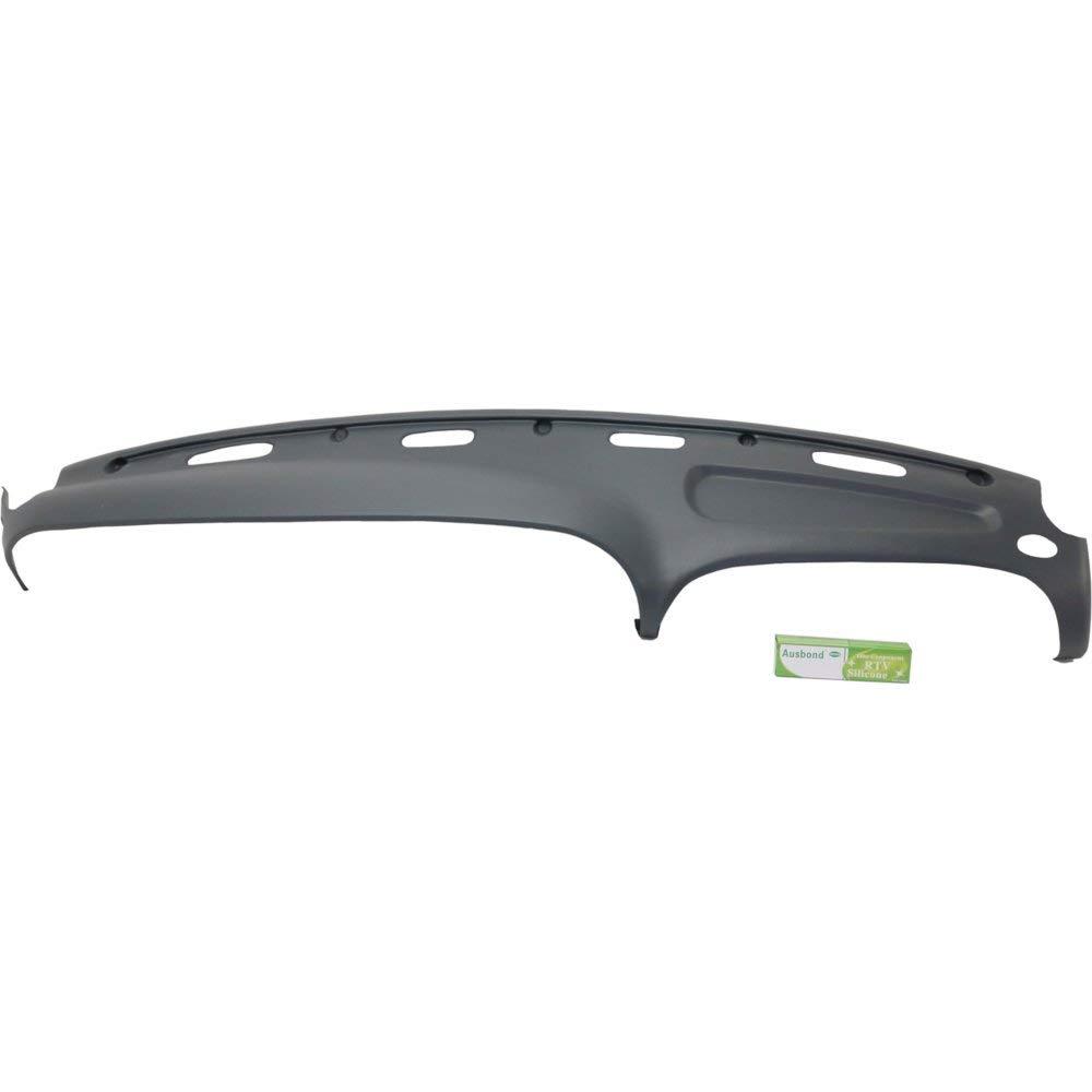 Dash Cover compatible with Dodge Full Size P//U 98-02 Presidio Gray