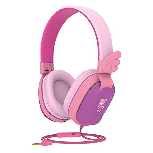 Kids Headphones, Riwbox CS6 Lightweight Foldable Stereo Headphones Over Ear...
