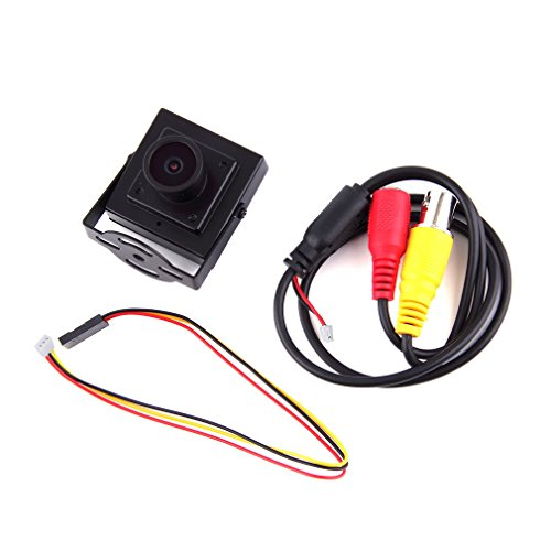 (Hockus Accessories Wholesale 1pcs Mini HD 700TVL 2.1mm Wide Angle Lens CCTV Security FPV Camera PAL NTSC - (Color: PAL))