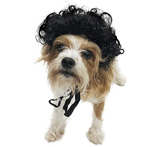 Midlee Dog Costume Wigs (Afro) -