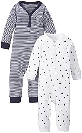 Carter's Baby Boys' 2 Pack Coverall Set (Baby) - Navy - 9 Months
