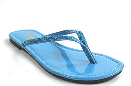 Image of Kali Footwear Women's Focus Glitter Flip Flops