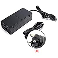 Xbox one Power Supply Brick, Womdee [2019 New Upgraded ] AC Adapter with Power Cord Cable Replacement Charger for Xbox one Console with 100-240V Voltage