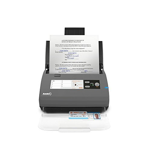Ambir ImageScan Pro 820ix 20ppm High-Speed ADF Scanner