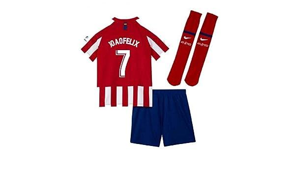 UKSoccershop 2019-2020 Atletico Madrid Home Nike - Mini Kit para ...