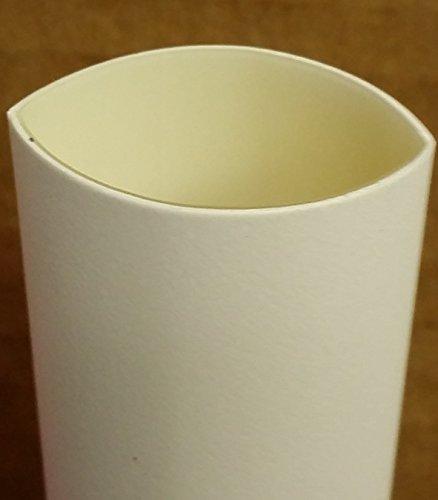 4in White Shrink Tubing - BuyHeatShrink 1/4
