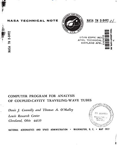 - Computer program for analysis of coupled-cavity traveling wave tubes