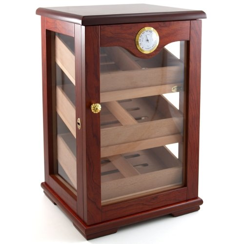 Cuban Crafters Rosewood Display Cigar Humidor 100 Count by Cuban Crafters