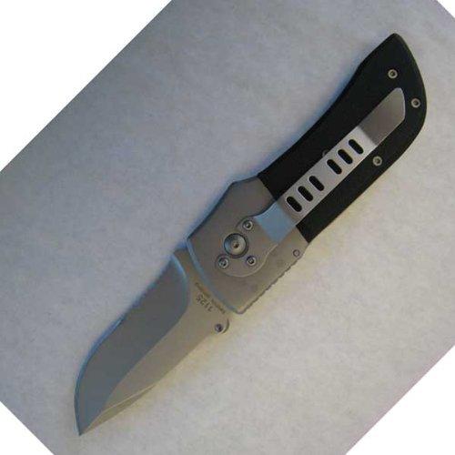 Seber Group Ratchet Knife, Serrated Drop Point Blade, Bead Blast Finish