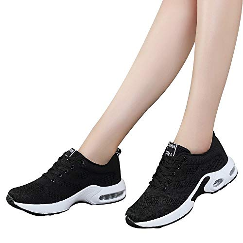 Gyoume Sports Shoes Women Slip On Shoes Running Walking Shoes Student Mesh Shoe by Gyoume (Image #5)